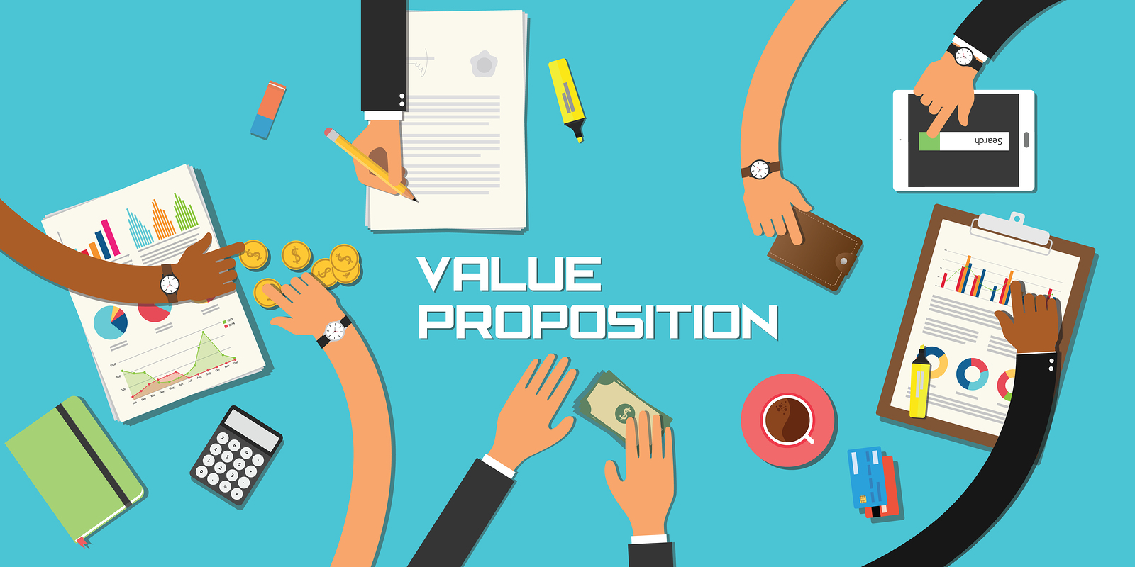 scaling the revenue engine chapter 5 value proposition ceo quest value proposition concept team work business marketing together hand and table